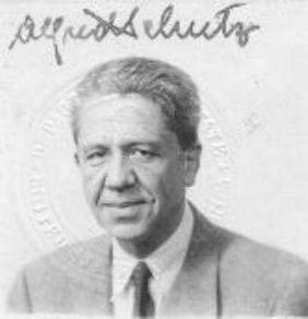 Alfred Schutz passport photo