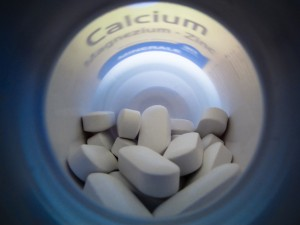 Calcium supplement pills