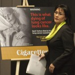 Canadian health warnings on cigarette packs