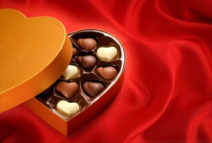 Chocolate antioxidants Valentine's day