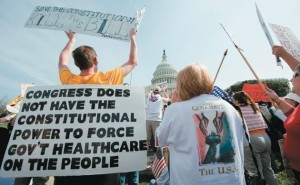 Constitutionality of health care individual mandate