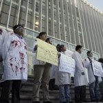 Czech doctors protest resign