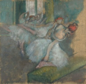 Degas Ballet dancers and Perceptions of ageing