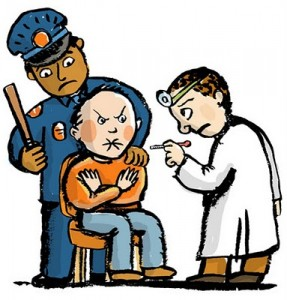 Doctor patient police The individualmandate