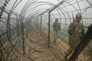 Fence between India and Bangladesh