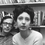 Joyce Carol Oates and husband Raymond Smith