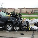 Legal drug abuse car crash