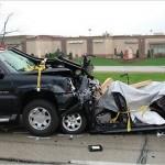 Legal drug abuse car crash