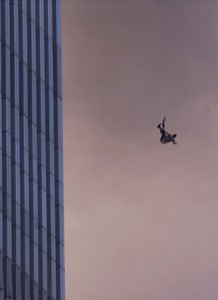 Man falling from World Trade towers