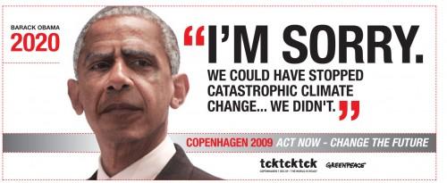 Obama on climate change: I'm sorry