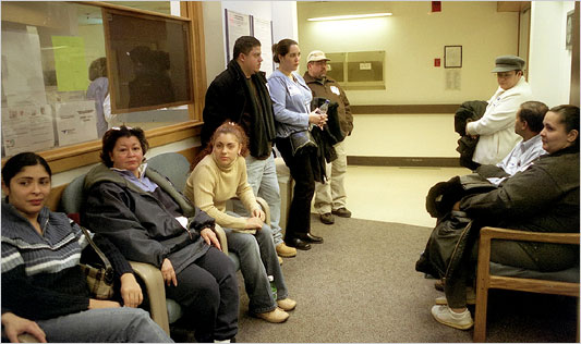Patients In Waiting Room The Health Culture