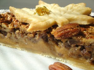 Pecan pie without corn syrup