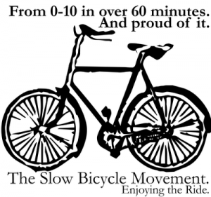 Slow bicycle