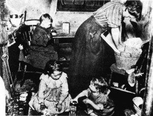 Unsanitary living conditions 19th century