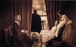 Victorian deathbed