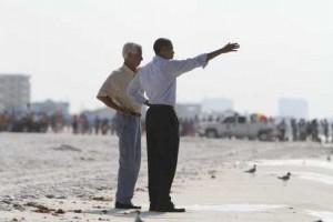Obama at oil spill